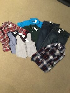 Boys Lot New With Tags Brand Name Size 7/8