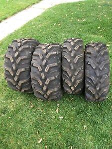 Tires, Wheel spacers, Half windshield