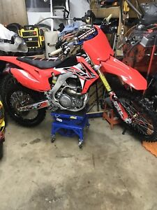 2016 crf 250r 6000$ as is this week or 5300$ stock.