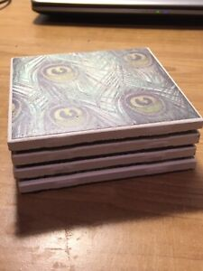 CLEARANCE SALE! Tile Coasters - variety of patterns available
