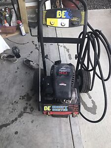 BE gas pressure washer