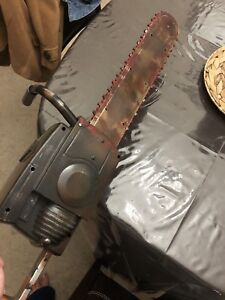 Toy Chainsaw for Halloween