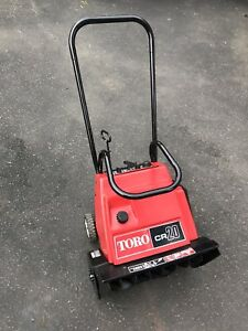 Toro CR-20 Snowthrower