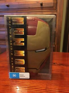 IRON MAN 1 COLLECTORS EDITION BOX SET