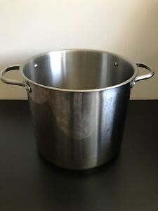 12 L stainless steel cooking pot