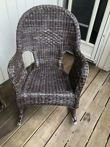 2 Wicker Rocking Chairs