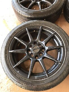 4 stud multi fit wheels