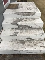 Wanted: Carpenter to Remove and Replace Concrete Steps