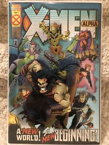 Marvel comics X men Alpha One Shot