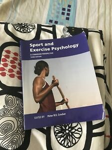 Sport and exercise psychology and chemistry (CHM135) textbook