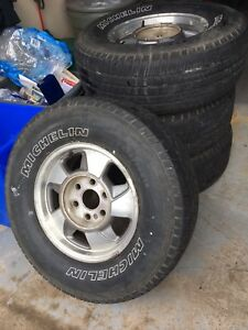 4 Season Tires 265-70-16, Michelin LTX-MS
