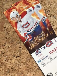 Canadiens vs Colorado