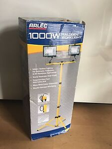 ARLEC 1000W Halogen Worklight + Tripod Brunswick East Moreland Area Preview