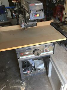 "Craftsman 10"" Radial Saw"