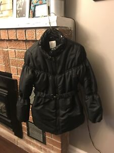 Children's Place black puffer jacket - size 10/12