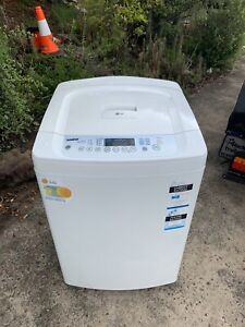 LG 8.5KG turbo drum washing machine working very well