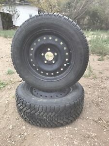 4 winter tire and rims