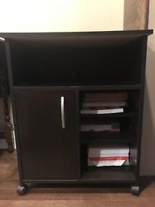 Printer Cabinet Side Table
