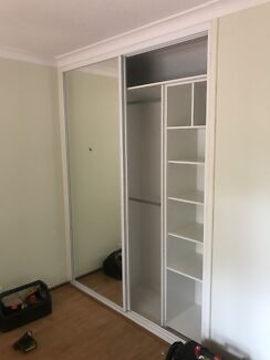 Built in wardrobes, sliding doors. cabinets, all carpentry