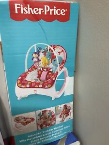 Infant to toddler rocker seat chair