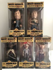 Walking Dead Collectibles (New in Boxes)