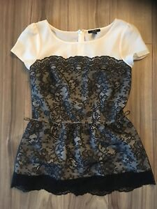 Lace formal top from Jacob