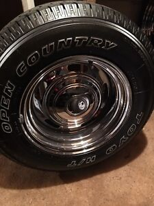 American Racing 15x8.5 rims and tires