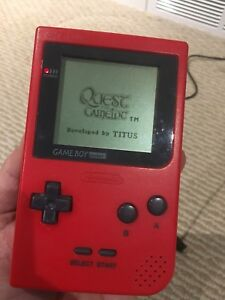 Gameboy Pocket with 2 Games