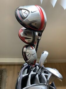 Nike Victory Red Golf Clubs and Bag