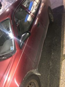 2002 corolla for trade only