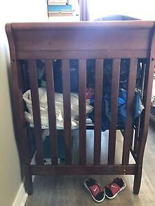 Graco solid wood crib