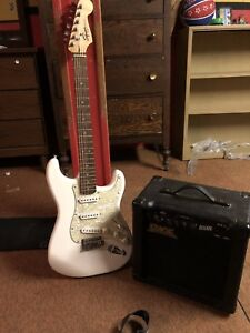 Fender squier and amp