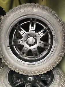 All-terrain tire and rim package