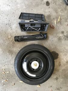 Spare tire and tools