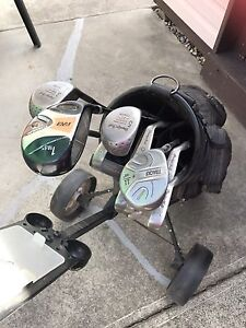 Left handed golf clubs $120
