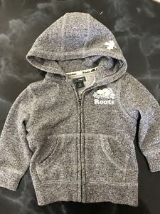 Roots sweater and sweatpants for toddler size 12-18 months