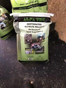 ALFALFA PELLETS 20 KG Bags
