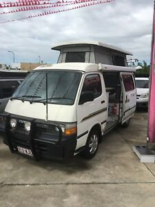 Toyota Hiace pop top Campervan
