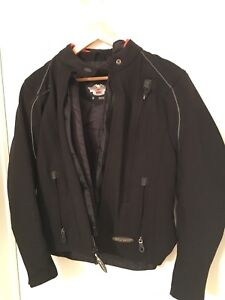 Woman's Harley Davidson riding jacket