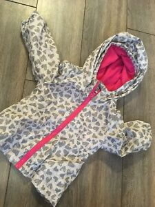 6-12 month girls fall coat