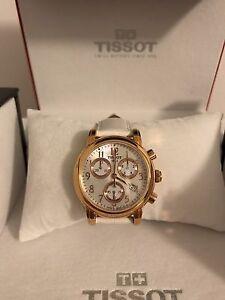 Ladies Rose Gold Tissot Watch