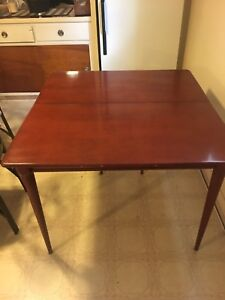 Solid Wood Folding Dining Table $60