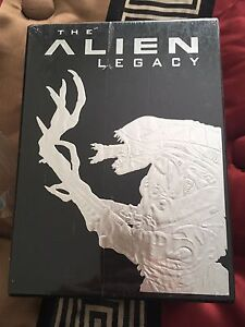 Aliens Legacy 20th Anniversary 5 Tape Set Factory Sealed!