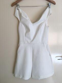 Kookai White Play Suit Size 38