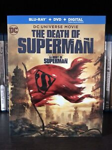 The Death Of Superman Blu-ray $15