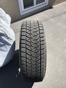Bridgestone blizzak tires barely used