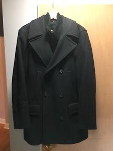 Men's classic pea coat