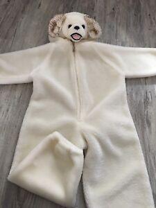 Halloween Costume puppy 2-3T