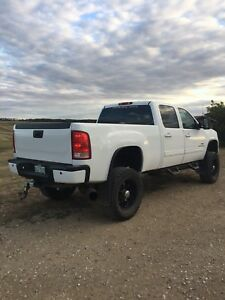 2009 gmc duramax slt 2500hd 6 inch lift