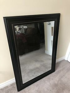 Large Mirror with Dark Frame